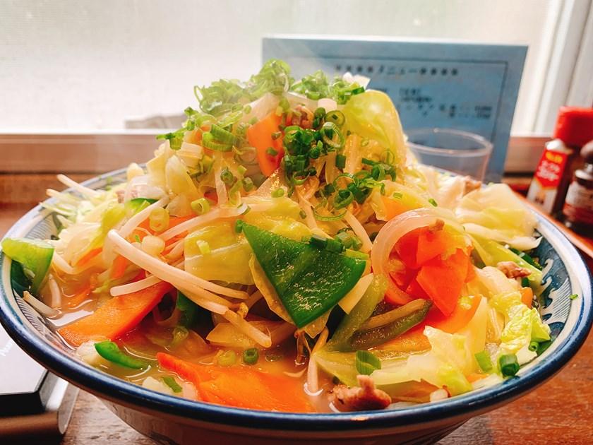 【ハナタカ情報】昨年10月末で明石食堂のメニューから消えた野菜そばが復活した模様